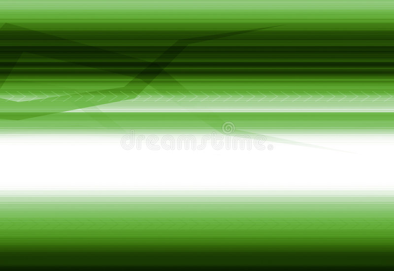 High tech green background royalty free illustration