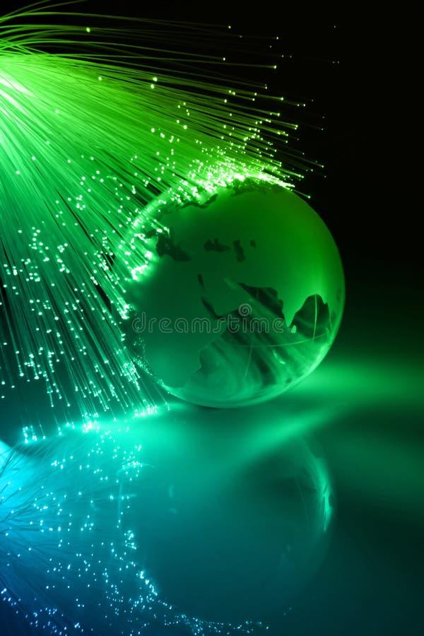 High-tech technologieachtergrond stock afbeelding