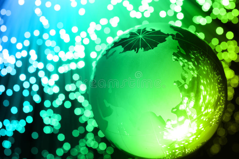 High-tech technology background stock images