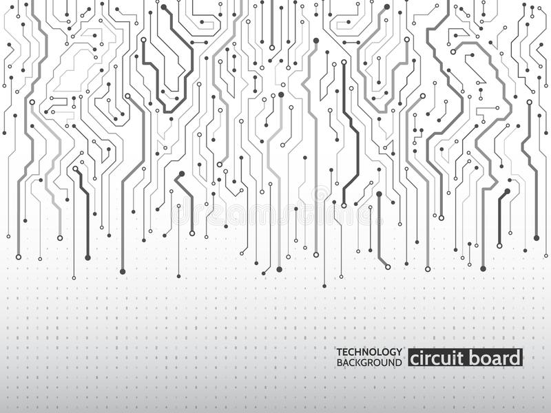 High-Teche Technologiehintergrundbeschaffenheit vektor abbildung