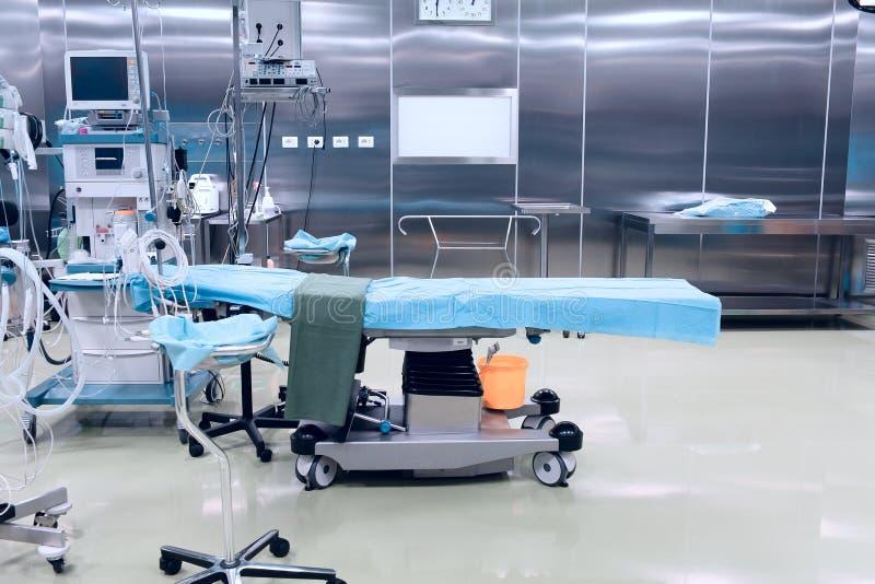 High-Techer chirurgischer Operationsraum stockfoto