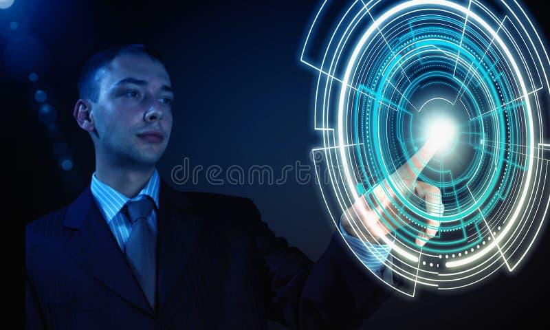 High technologies stock image