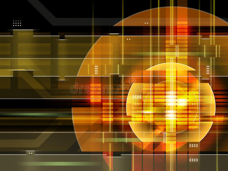 High technology background stock illustration
