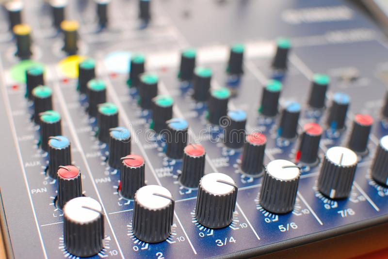 Download High Technology Equalizer Or Mixer Stock Photo - Image: 10995974