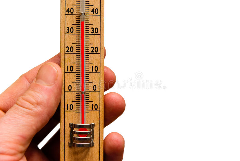 High temperature thermometer hot