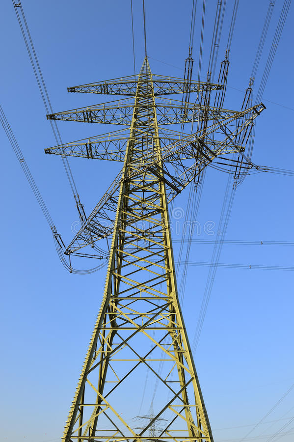 Download High Tension Electrical Power Stock Photo - Image: 20034350
