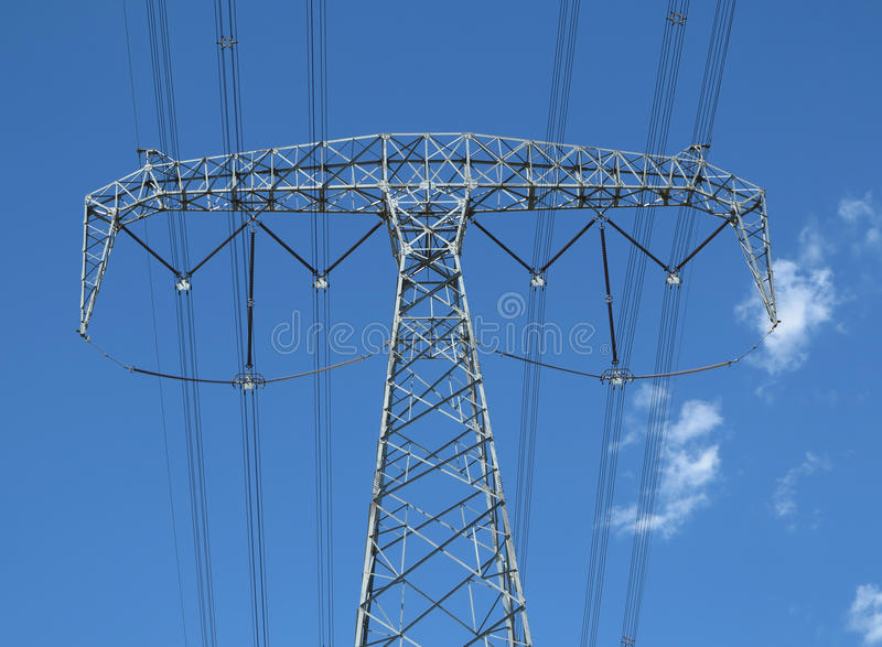 Download High-tension Line And Transformer Stock Photo - Image: 26278400