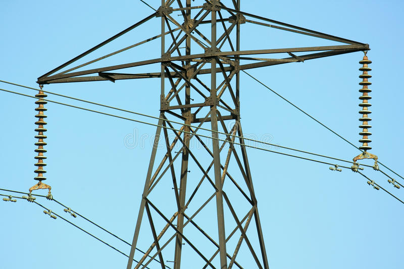 Download High Tension Lines stock image. Image of cable, dangerous - 33327467