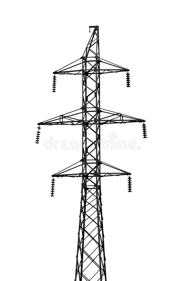 Free High-tension Power Lin Stock Photo - 15390990