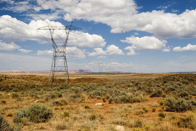 Download High tension power lines stock photo. Image of cable, power - 1529010