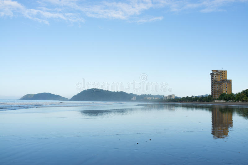 High tide stock photography