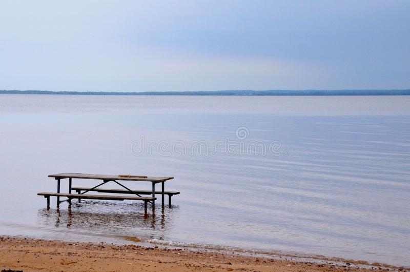 High Tide stock images