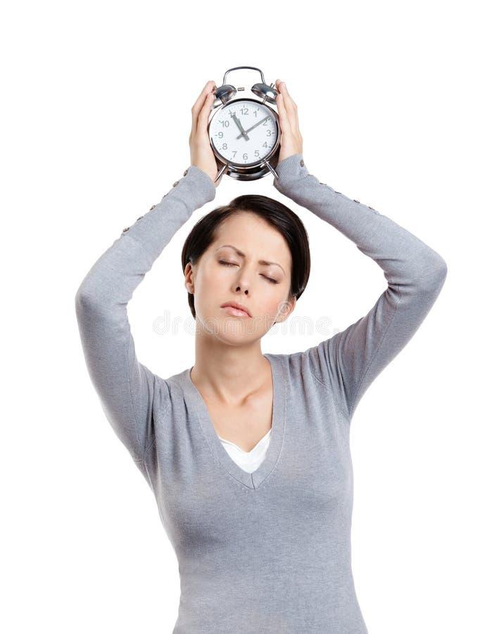 Download High time to sleep stock photo. Image of asleep, adult - 26100760
