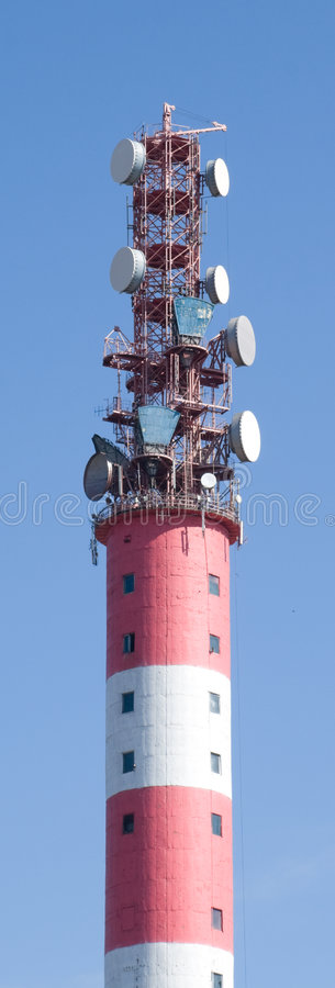 Download High tower stock photo. Image of steel, network, connection - 9131812