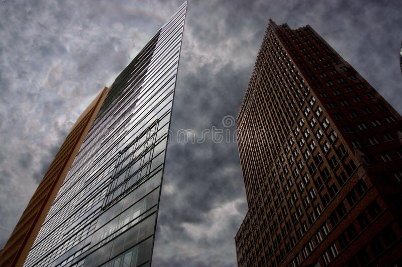 High Towers Building stock photos