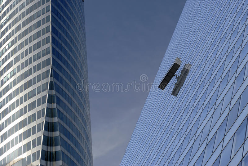 High-Up Business stock image