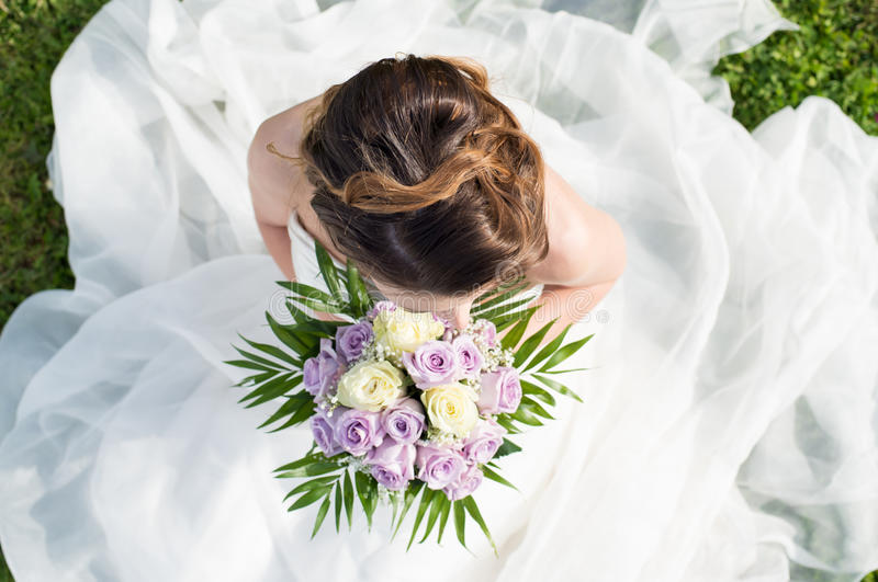 Download High View Of A Bride Stock Image - Image: 32227921