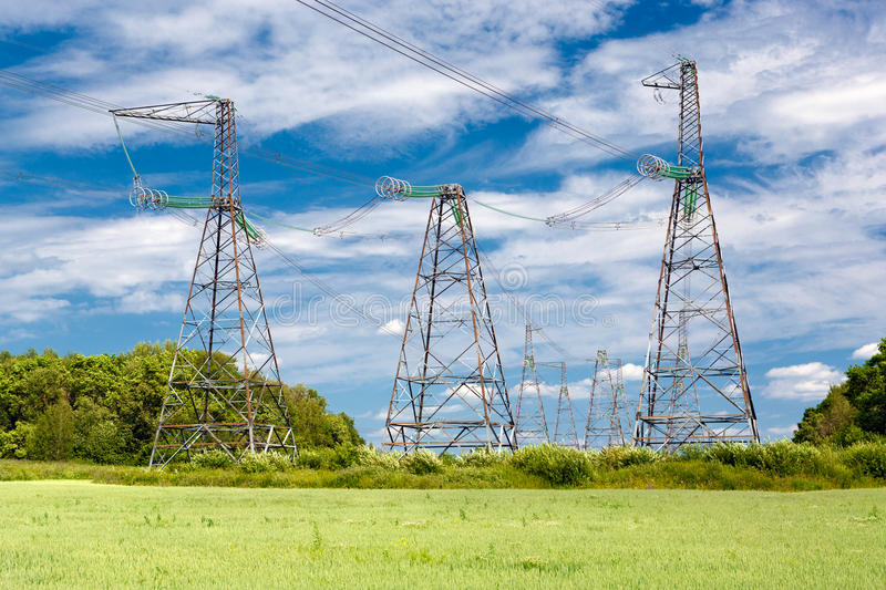 Download High-voltage stock photo. Image of environment, harvest - 25657902