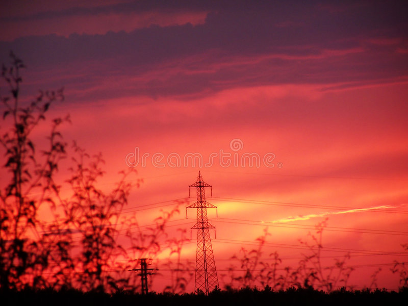 High Voltage 3 royalty free stock images