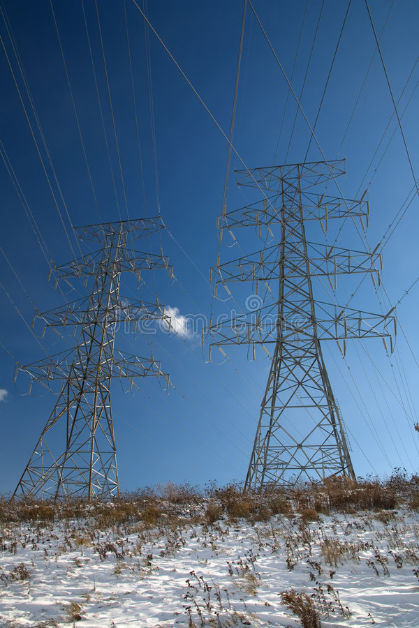 Download High voltage stock photo. Image of electric, tower, electricity - 579202