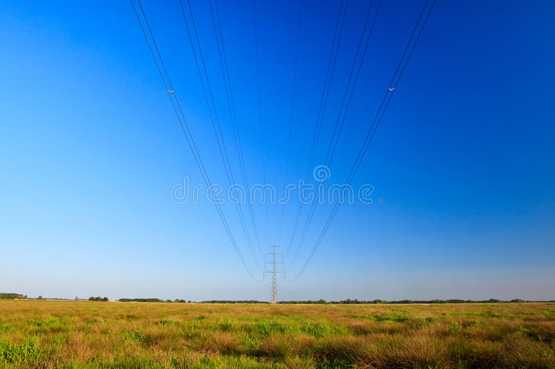 Download High Voltage Electricity Pylon Stock Image - Image: 9723869