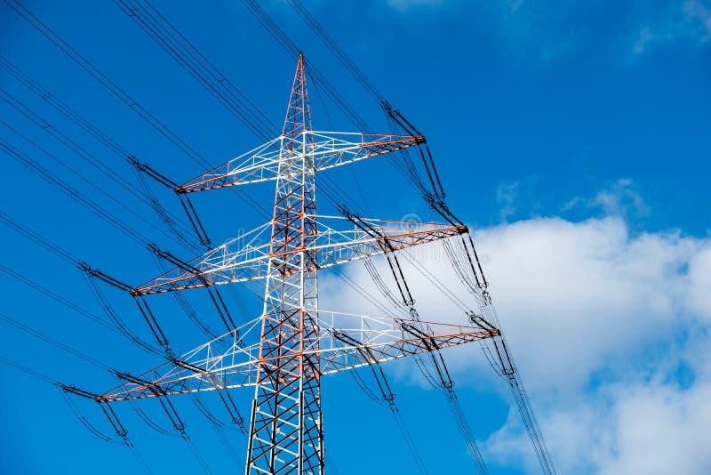 Download High Voltage Electricity Pylon Stock Photo - Image: 83705615