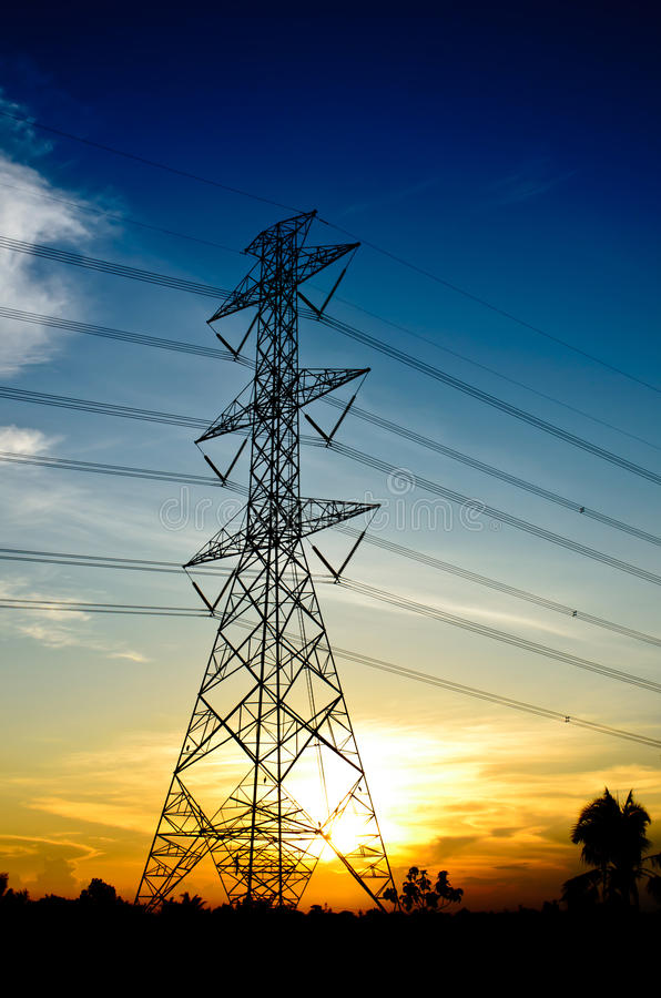 Download High voltage post stock image. Image of energy, electric - 31106529