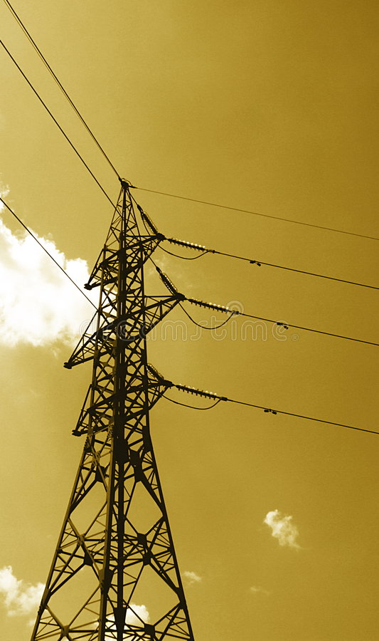 Download High Voltage Power Line stock image. Image of industry - 2683563