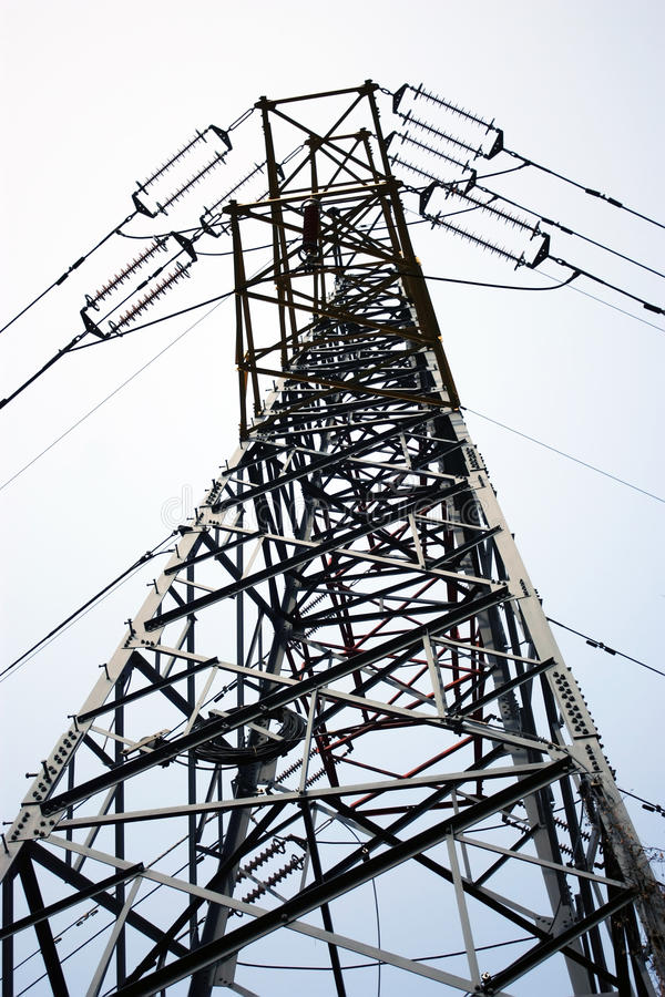 Free High-voltage Power Line Tower Royalty Free Stock Photography - 12090867