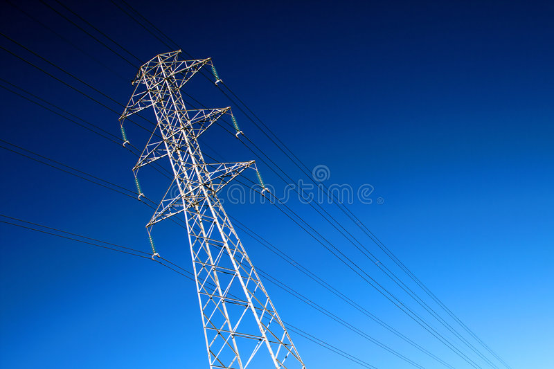 Download High voltage power lines stock photo. Image of generation - 6154194