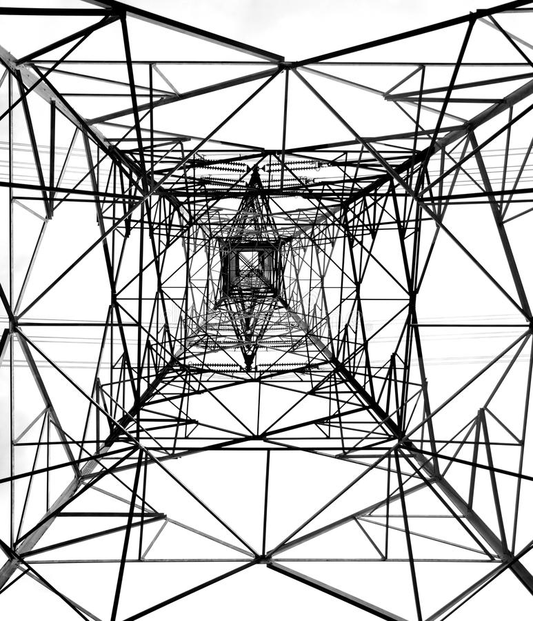 High Voltage Power Mast royalty free stock images