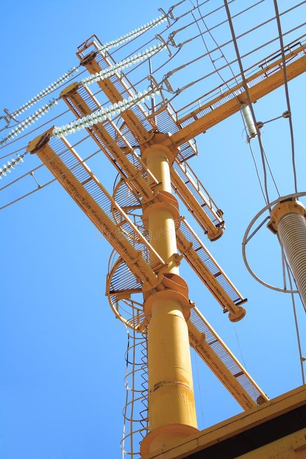 Download High voltage pylon stock photo. Image of circuit, modern - 11985038