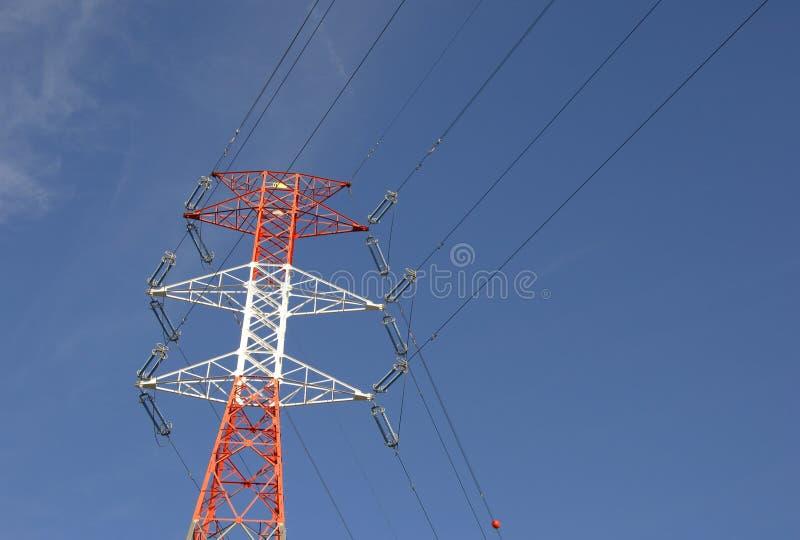 Download High voltage pylon stock photo. Image of pylon, factory - 4337086
