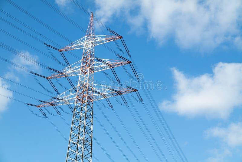 Download High Voltage Pylon Stock Photo - Image: 83706992