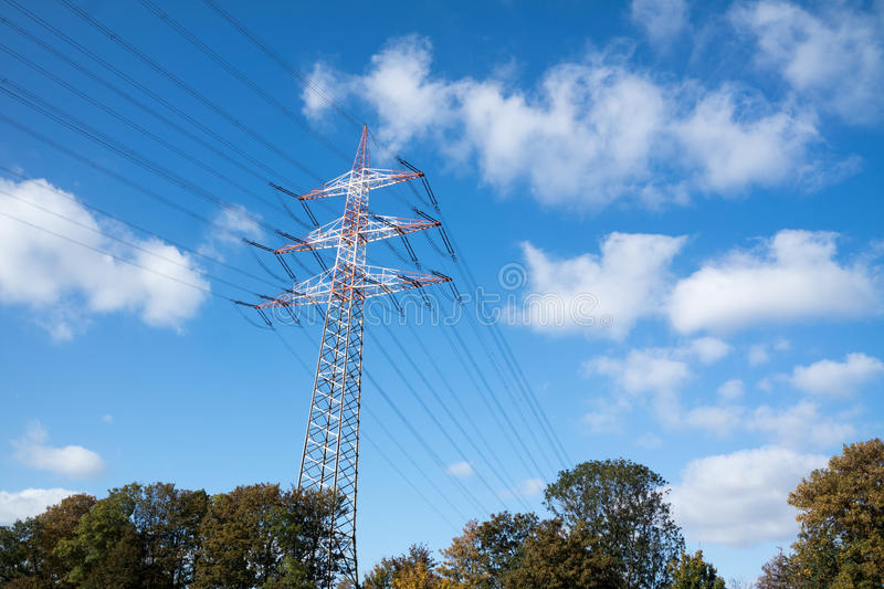 Download High Voltage Pylon Stock Photo - Image: 83707011