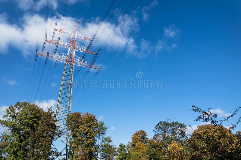 Download High Voltage Pylon Stock Photo - Image: 83707199
