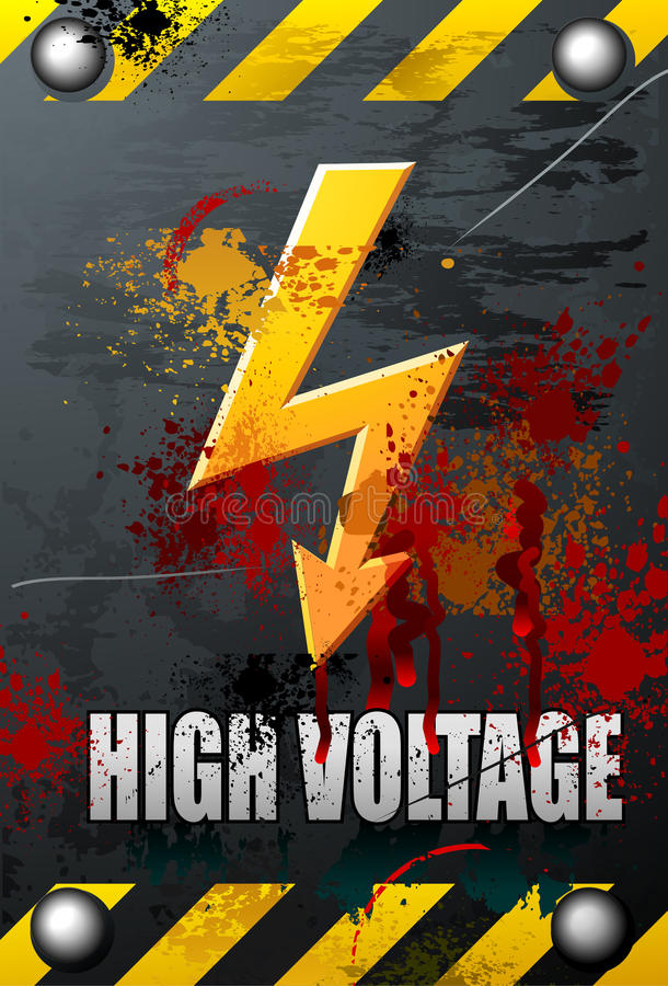 Free High Voltage Sign Stock Images - 11614044