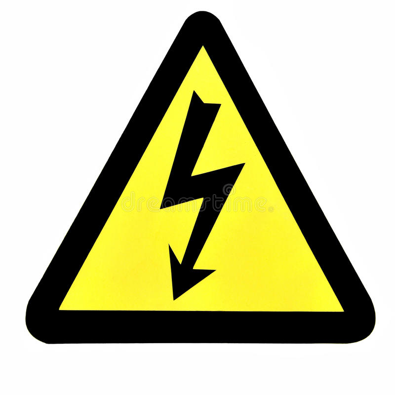 Free High Voltage Sign Stock Image - 25349521