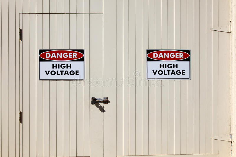 High Voltage stock images