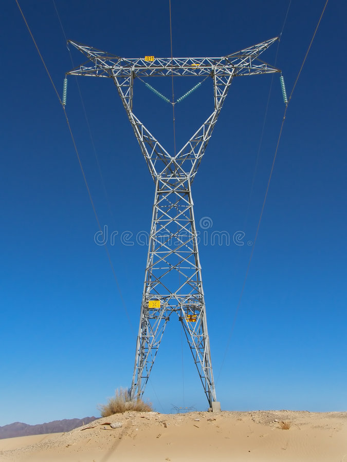 Free High Voltage Tower Stock Photography - 2210052