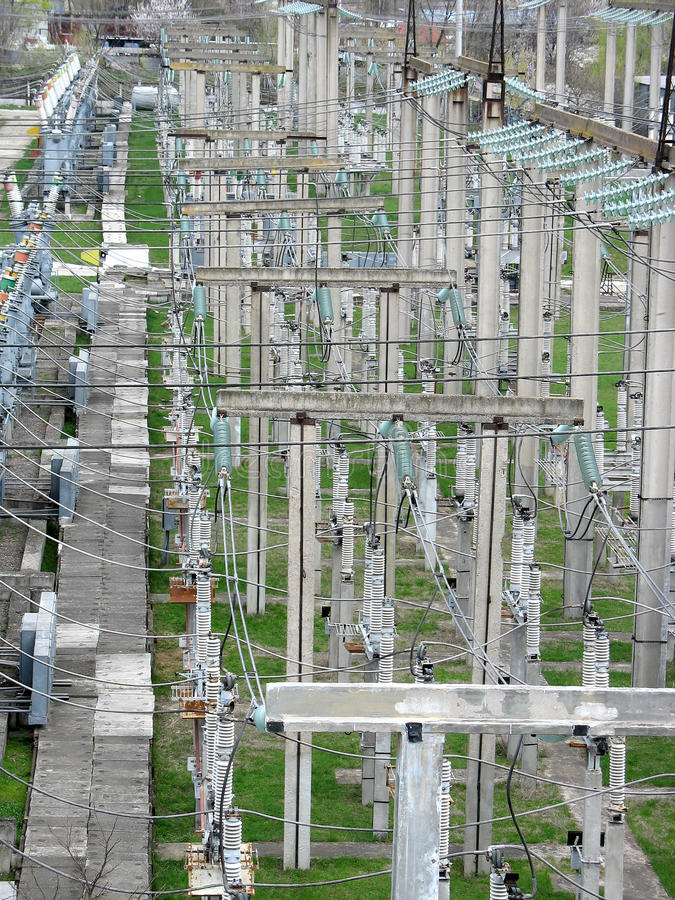Download High Voltage Transmission Power Lines Stock Photo - Image of lines, energy: 19252374