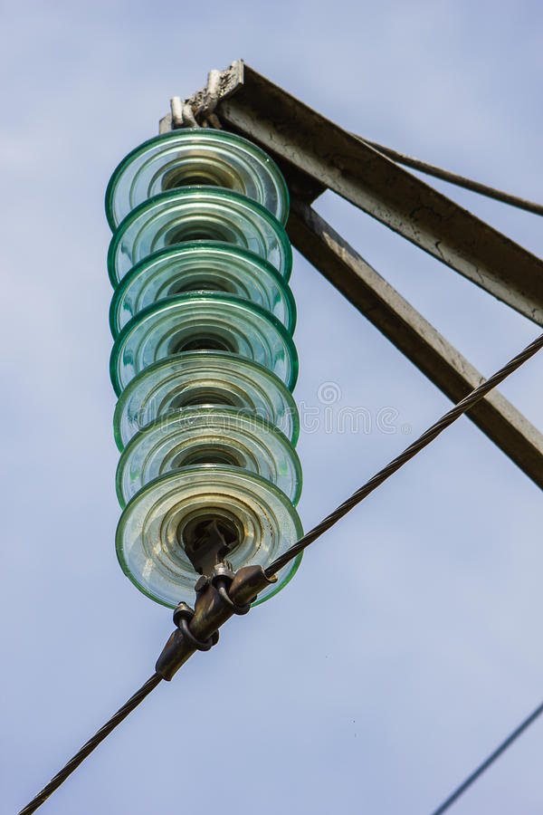 High Voltage Electrical Wire : High voltage wires power transmission lines stock image
