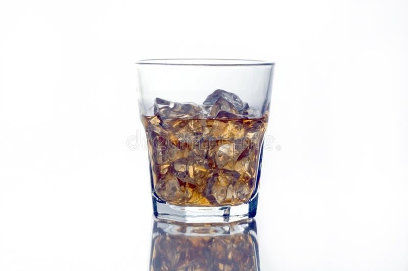 Highball Glas von schottischem lizenzfreies stockfoto