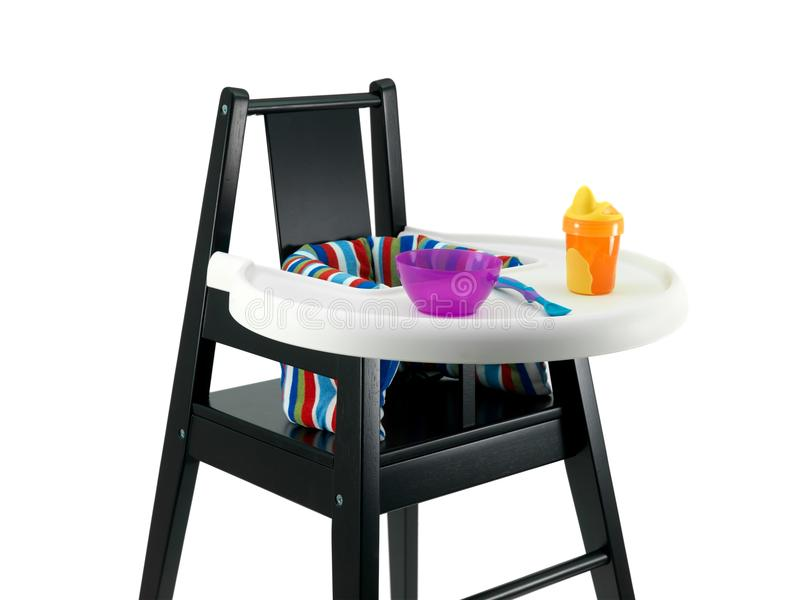 Highchair royalty free stock image
