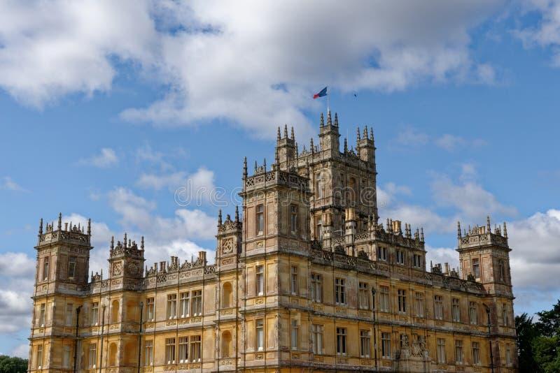 Highclere Castle - Berkshire - United Kingdom stock photo