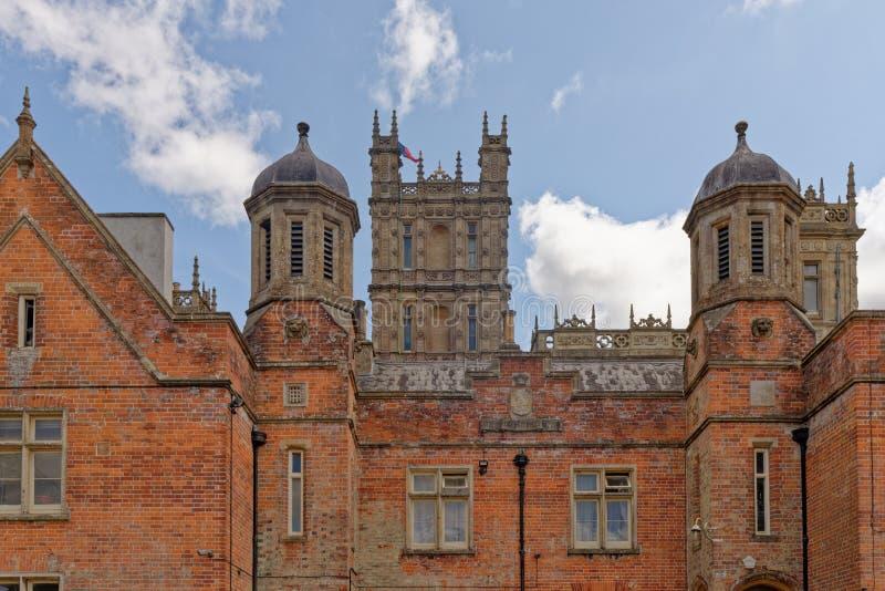 Highclere Castle - Berkshire - Zjednoczone Królestwo zdjęcia stock