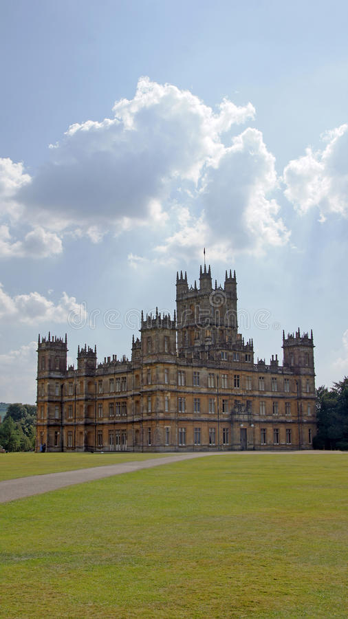Free Highclere Castle, Downton Abbey Royalty Free Stock Image - 65032556