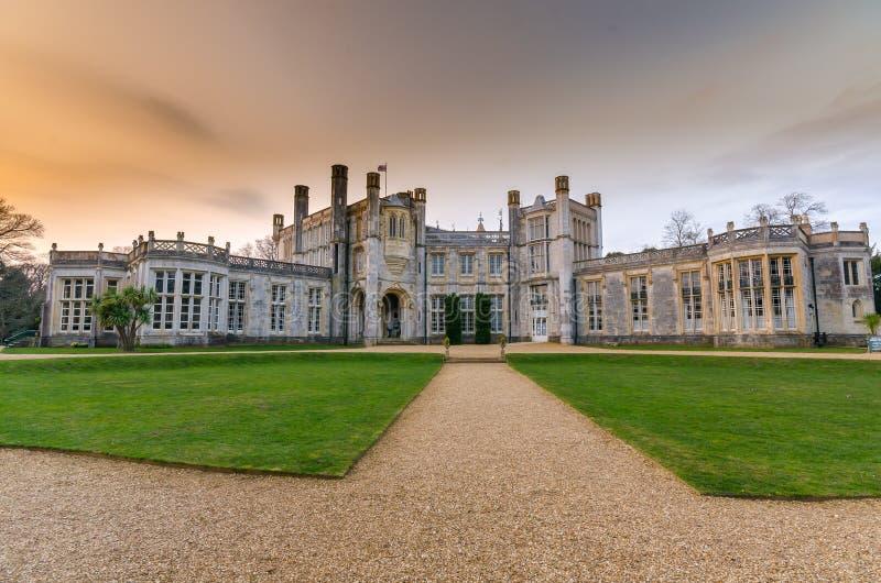 Highcliffe kasztel obrazy royalty free