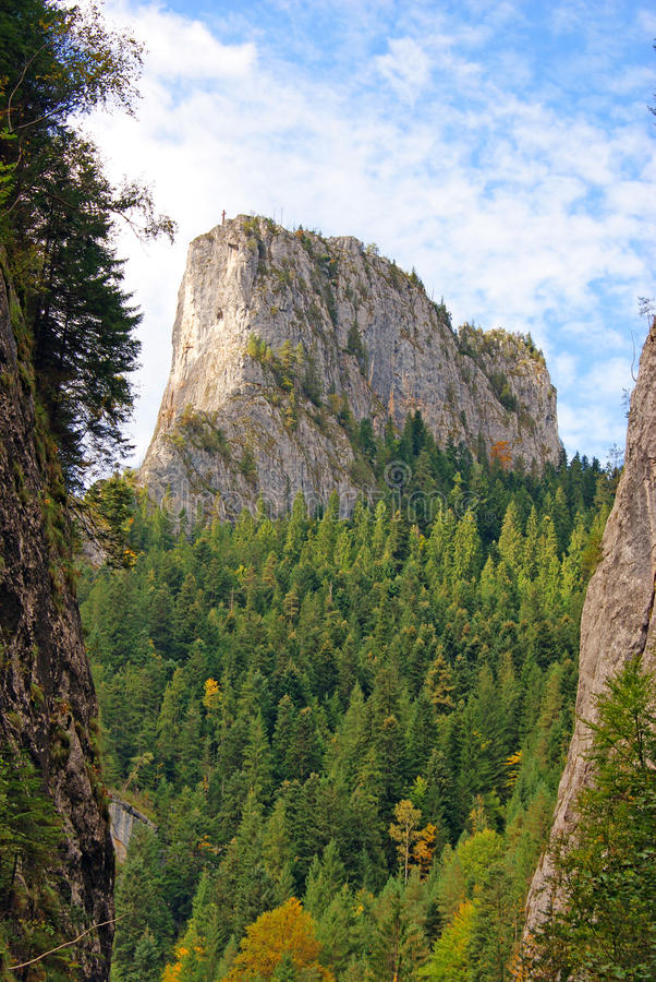 Free Highest Peak Of Ceahlau Mountains Royalty Free Stock Photography - 16260017