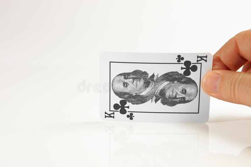 Highest Trump Card. Royalty Free Stock Image